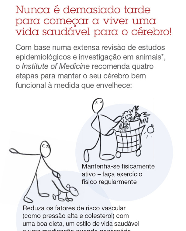 Successful Aging Bookmark (Portuguese)