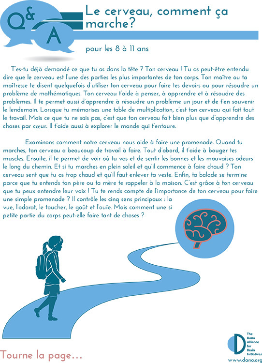 How Does the Brain Work? Grades 3-5 (French)