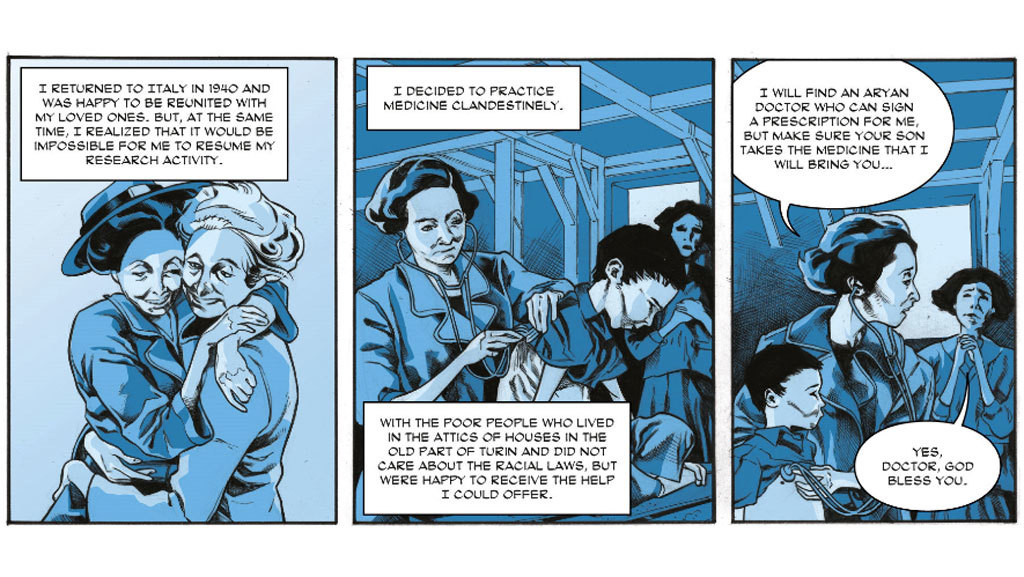 graphic novel panel