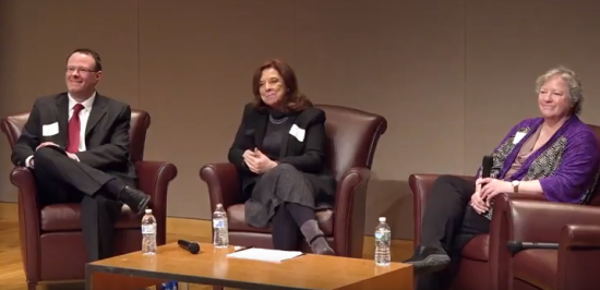 panelists in chairs