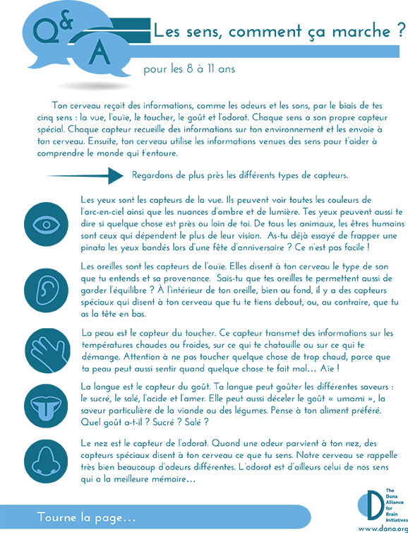 How Do the Senses Work? Grades 3-5 (French)
