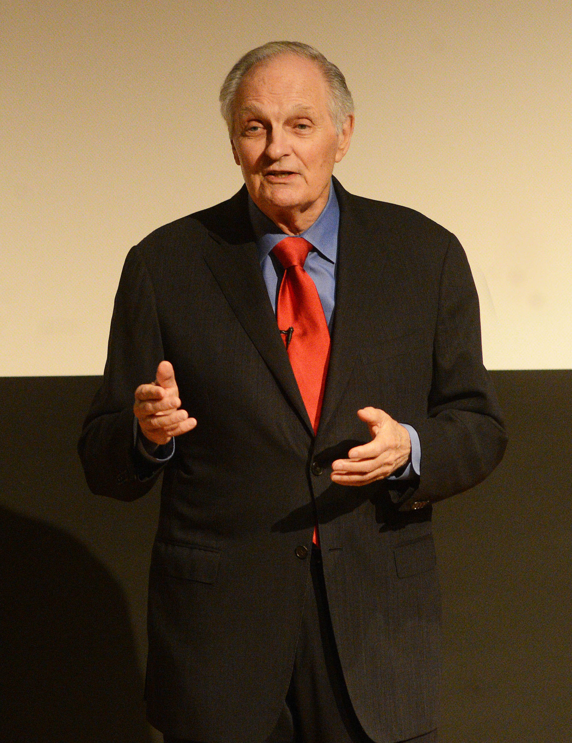 Alan Alda at Columbia cropped