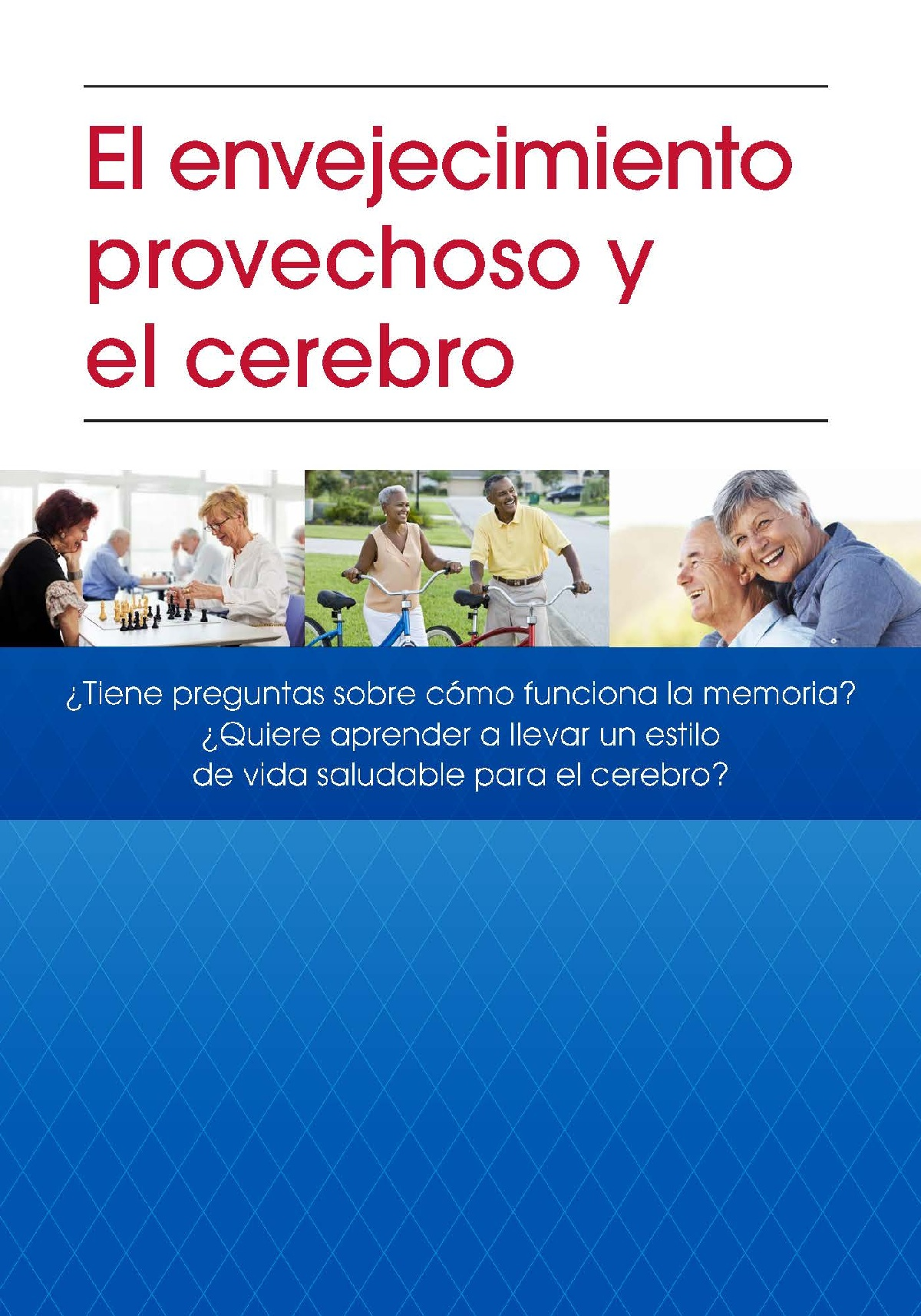 Successful Aging & Your Brain (Spanish)