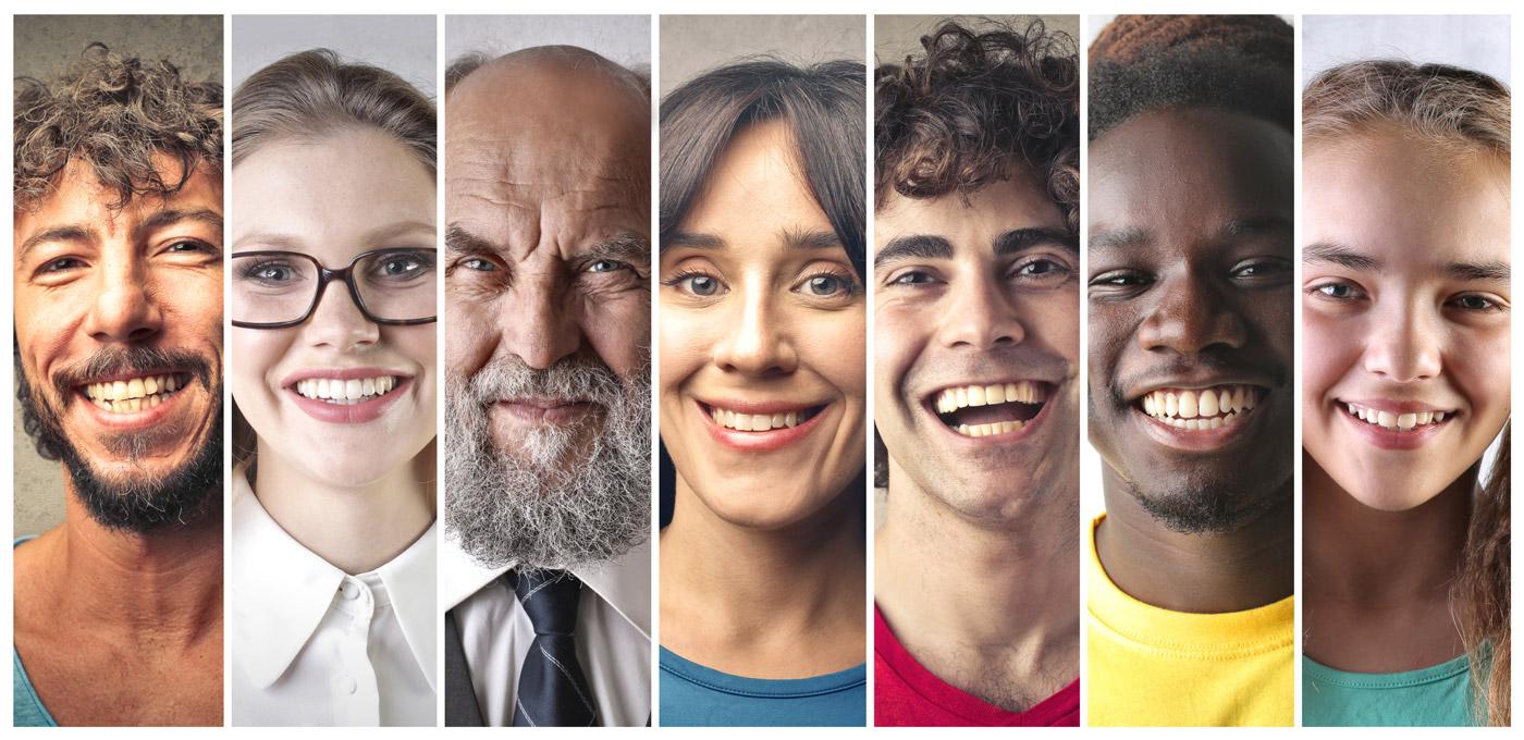 multiple faces