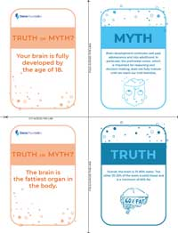 Truth or Myth Flash Cards – Color